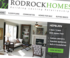Rodrock Homes website