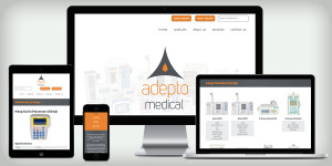 Adepto Medical website
