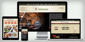 Website for Grünauer
